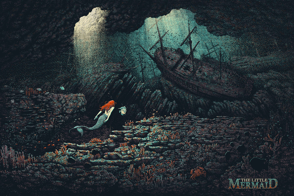 The Little Mermaid Alternative Poster