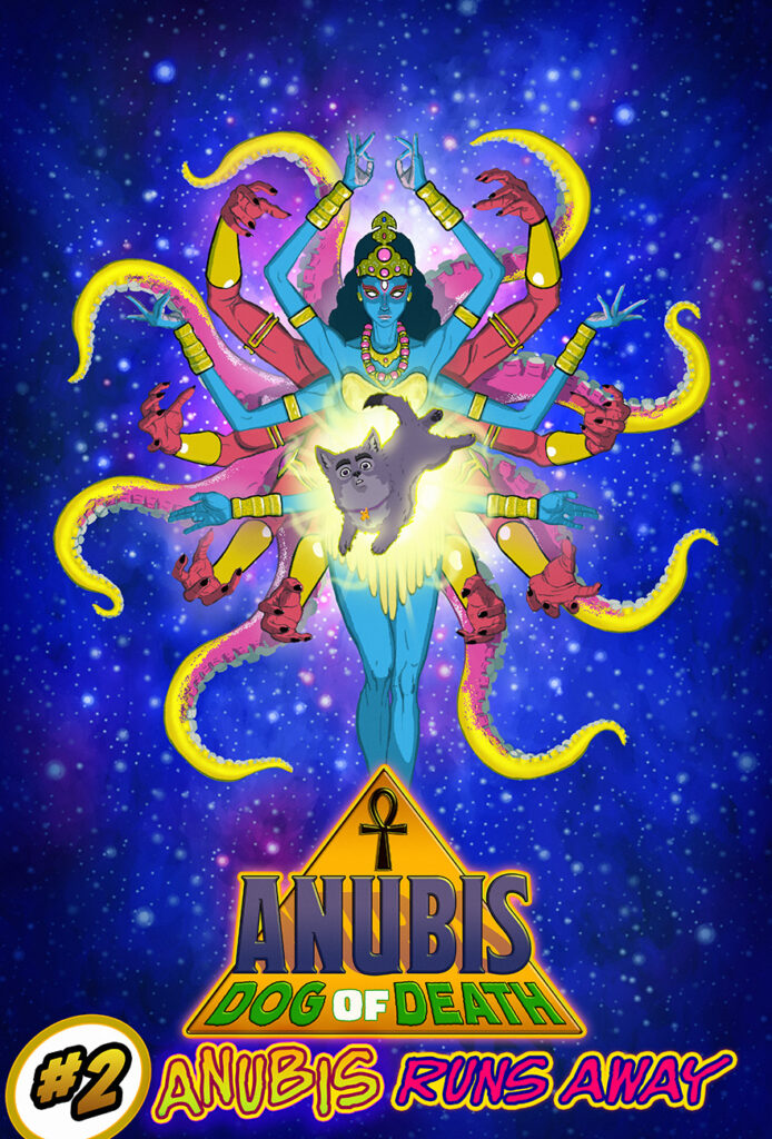 Anubis: Dog of Death #2 - Cover B