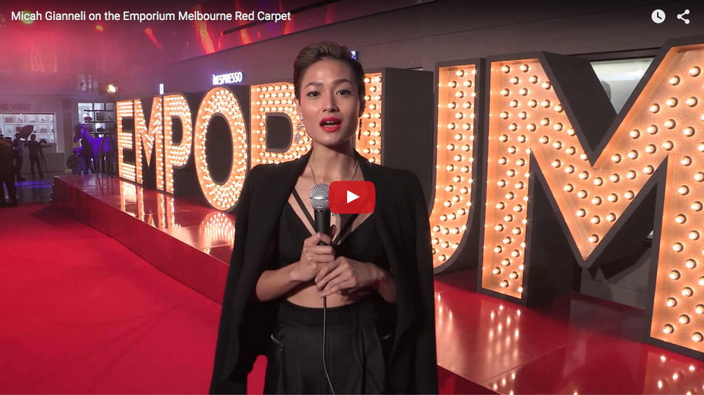 Emporium Melbourne Launch - Micah Gianneli