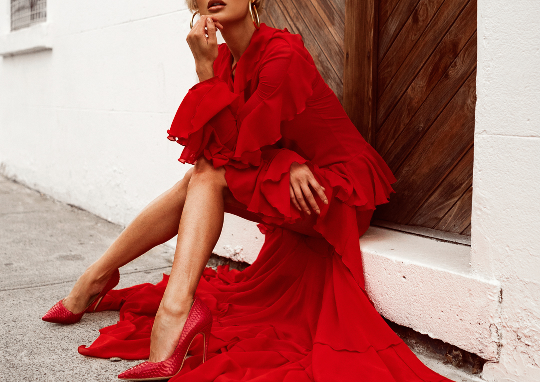 Micah-Gianneli-Australian-Melbourne-Fashion-Blogger-Influencer-Photography-Street-Style-Vogue-Editorial-Luxury-Red-Dress-The-Dolls-House-Spanish-Gown-Silvia-Matei-Shoes