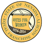 100 Years of Suffrage in Nevada logo