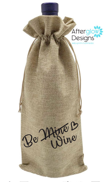 Be Wine Bottle Gift Bag