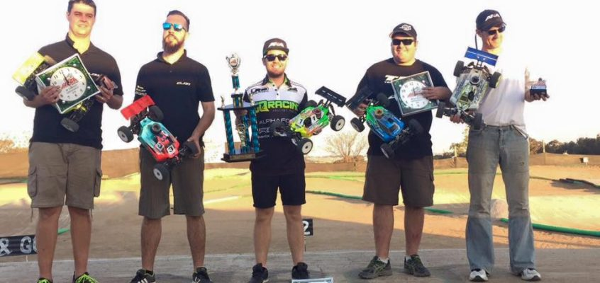Haasbroek and JQRacing South African Championship Trifecta!