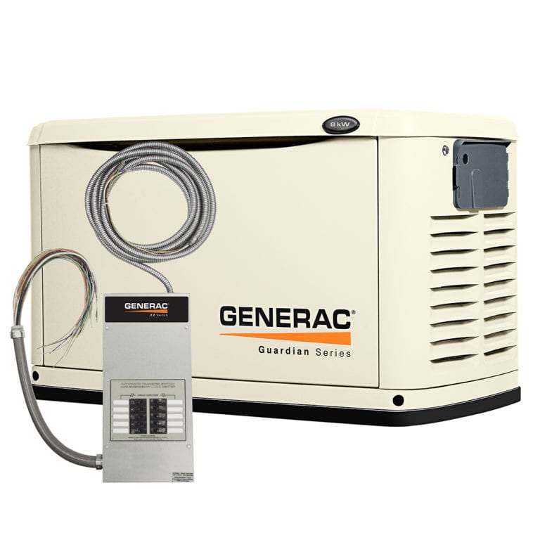 Generac home backup generator for Amarillo Texas Homes