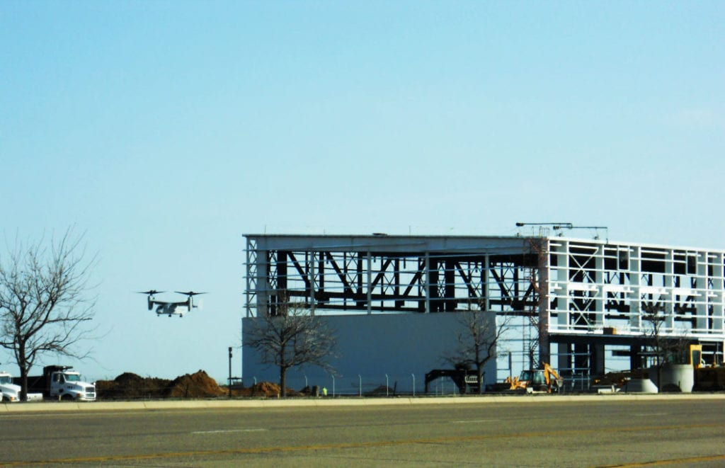 Bell Helicopter H1 Flight Hanger