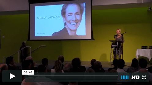 Shelli Lazarus at 2015 Marketing Hall of Fame