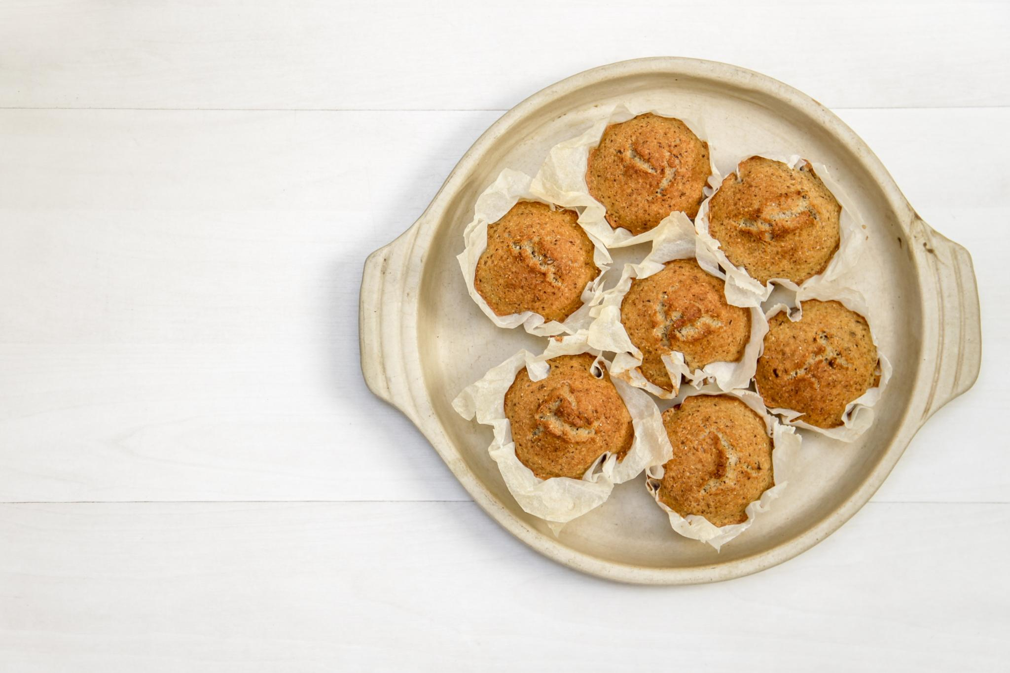 Easy Gluten-Free Banana Mini Muffins