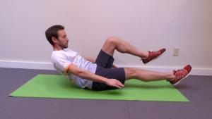 Single leg hold position