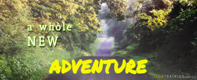 A new adventure for TGB training - Integrating fitness and personal growth