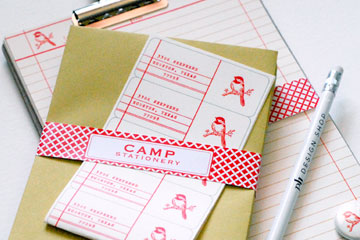 Camp Stationery
