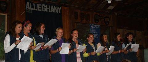 Camp Alleghany Singing