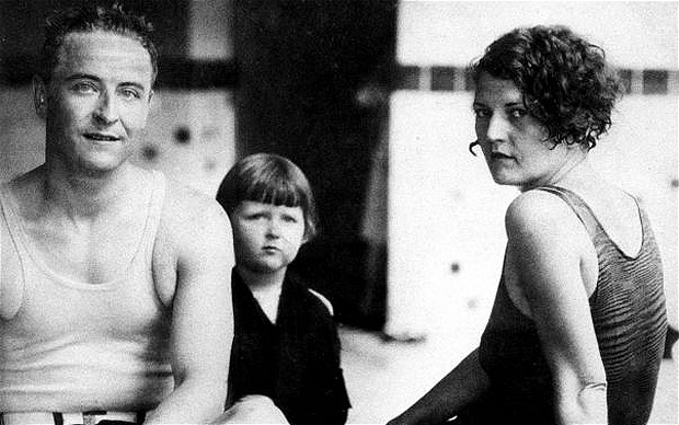 F Scott and Family