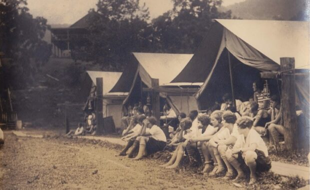 Old camp photo