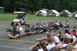 Skits at camp