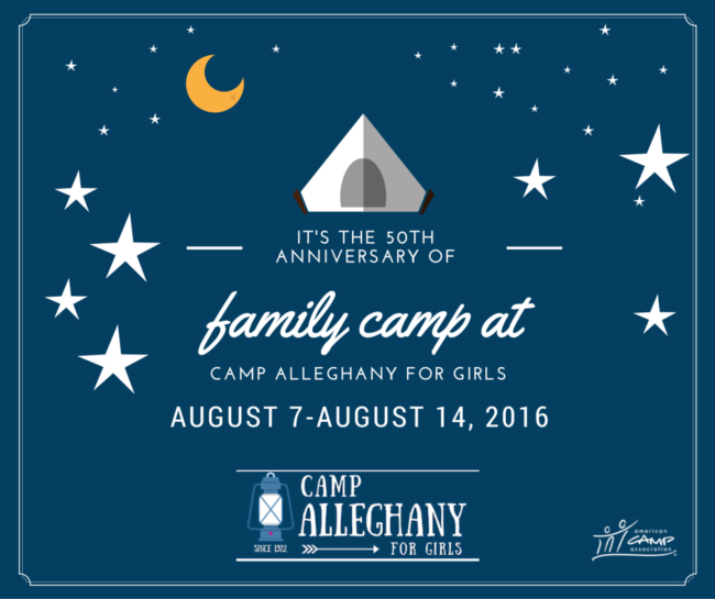 Family Camp at Camp Alleghany