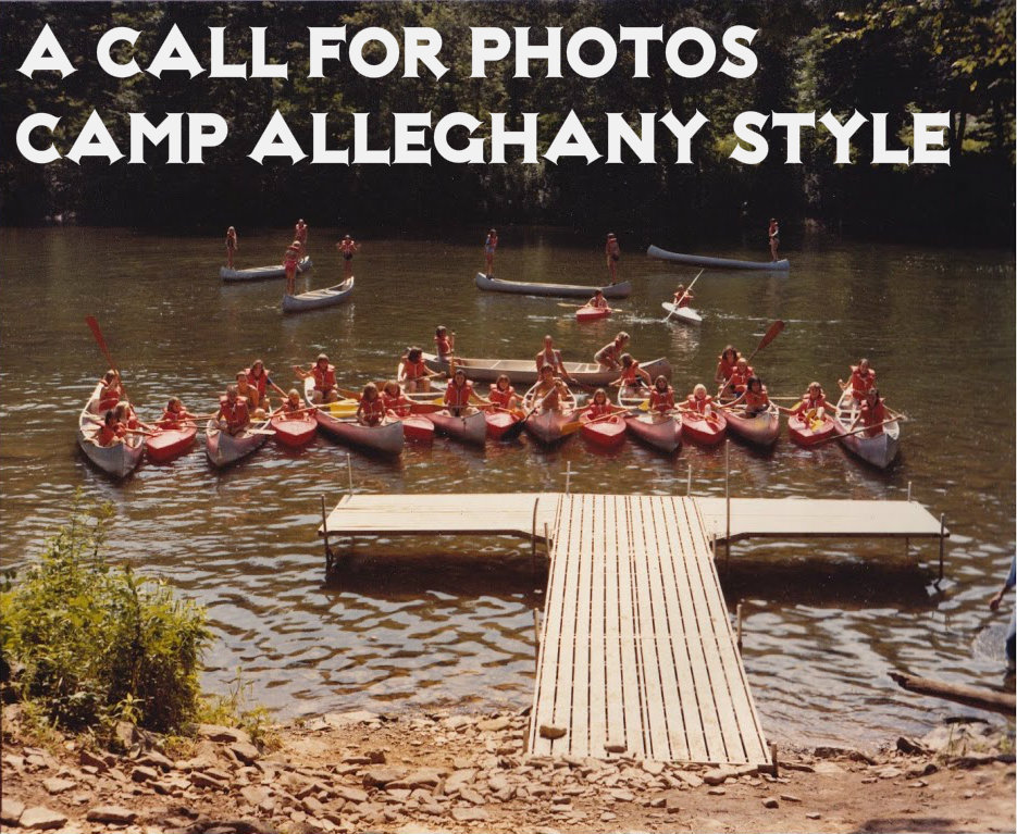 Canoeing at Camp Alleghany