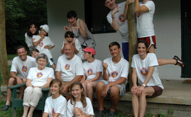 ZSilly Tee Shirts at Camp Alleghany Family Camp