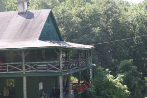 The Camp Alleghany Cottage porch