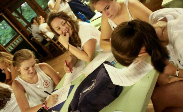 Camp Internship training