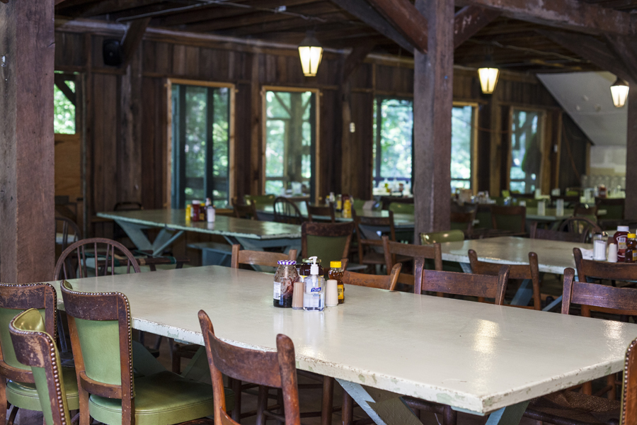 Camp Alleghany Dining Hall.