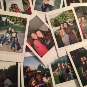 Camp Polaroids