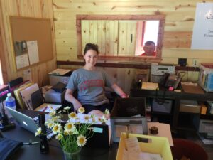 Office Manager Louise Dawson