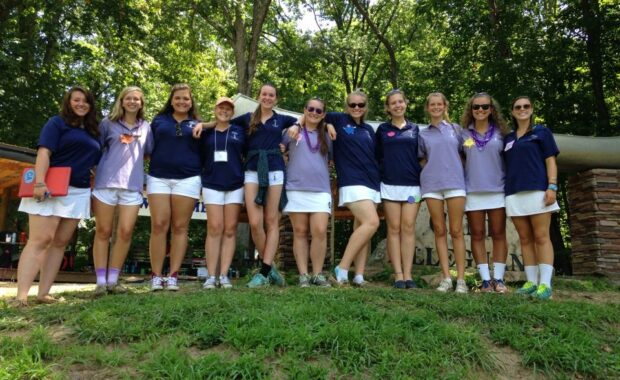 Counselors, Tinges, JCs Camp Alleghany