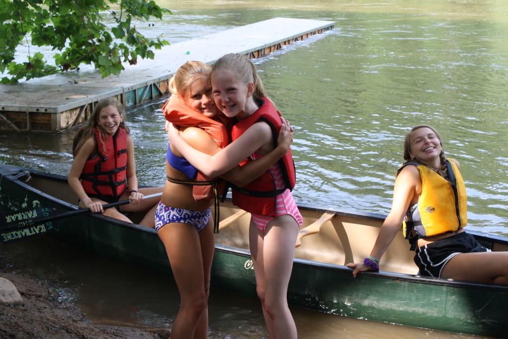 Younger Campers at Camp Alleghany