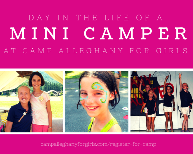 Mini Camp at Camp Alleghany for Girls