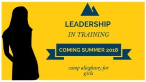 Leadership I Training Camp Alleghany for Girls