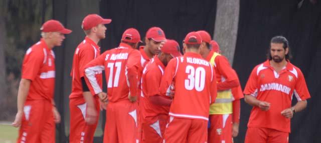 Denmark team.