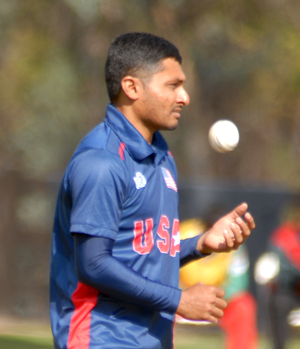 Timil Patel picked up his second five wickets haul of the tournament.