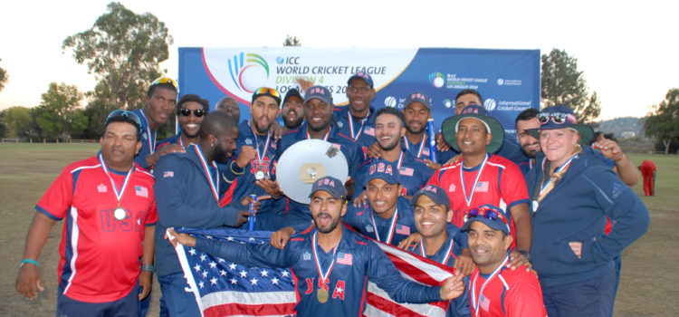 USA Promoted To Division 3 And Win Championship Plate