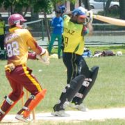 Bilal Ahmed And Renwick Batson Ton-up