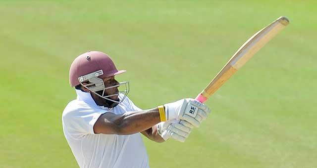 Jahmar Hamilton batting