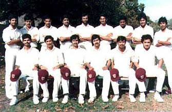 Cosmos Team in 1985