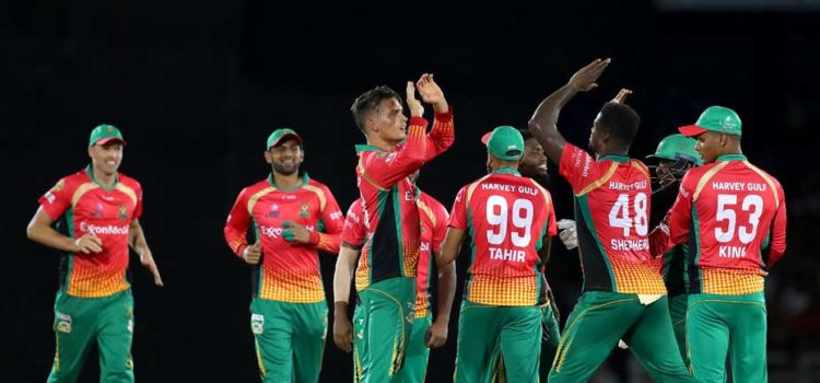Guyana Amazon Warriors Register Eighth Straight Win