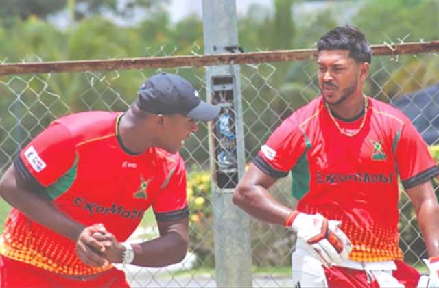 Ryan Hercules and Chandrapaul Hemraj