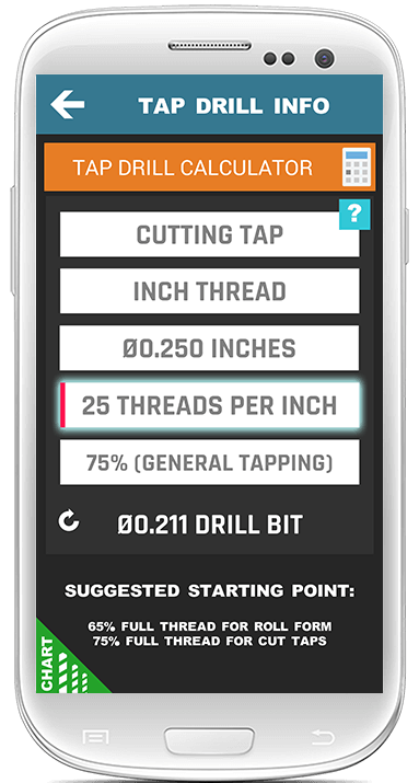Tap Drill Calculator