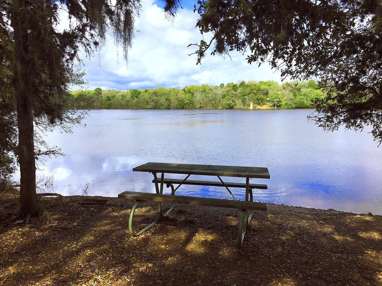 lake buescher state park