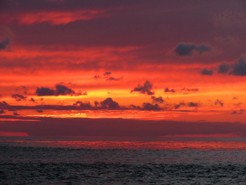 perfect captiva island sunset