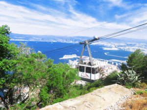 cable car rock of gibraltar