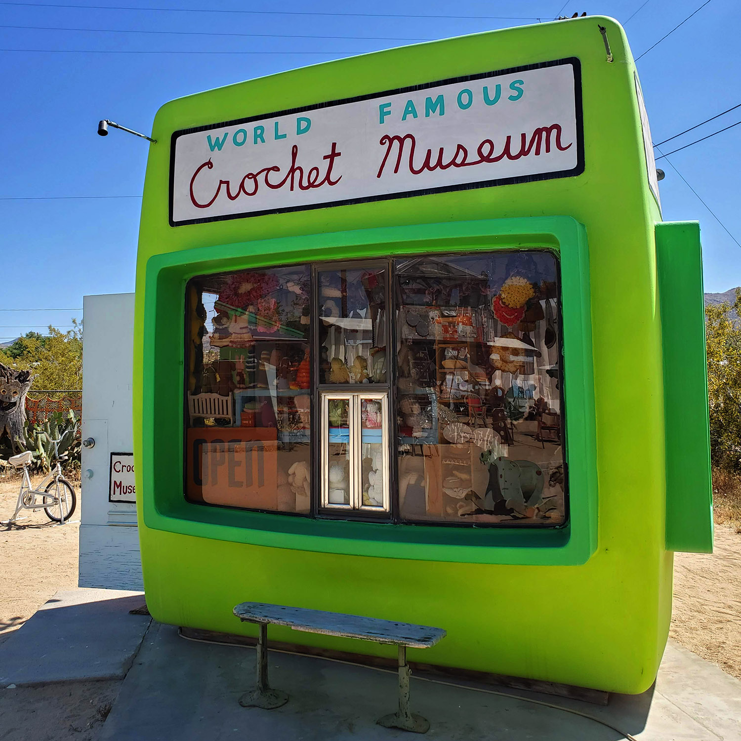 world famous crochet museum joshua tree
