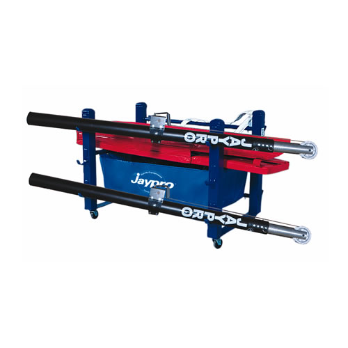 """Deluxe Volleyball Equipment Carrier (48""""L x 36""""W – 6 poles)"""