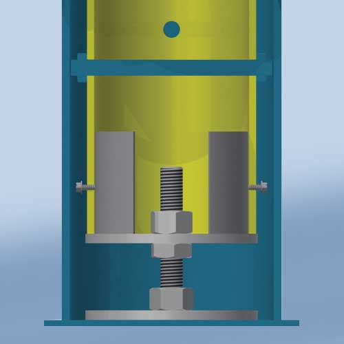 Ground Sleeves w/ Height Adjuster (4-1/2″)
