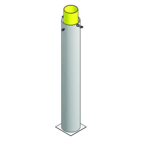 Foul Pole Ground Sleeve (30′ for BBCFP-30 poles)