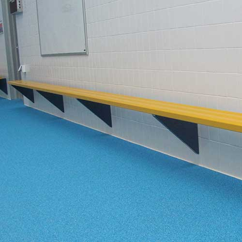 Wall Mounted Players Bench