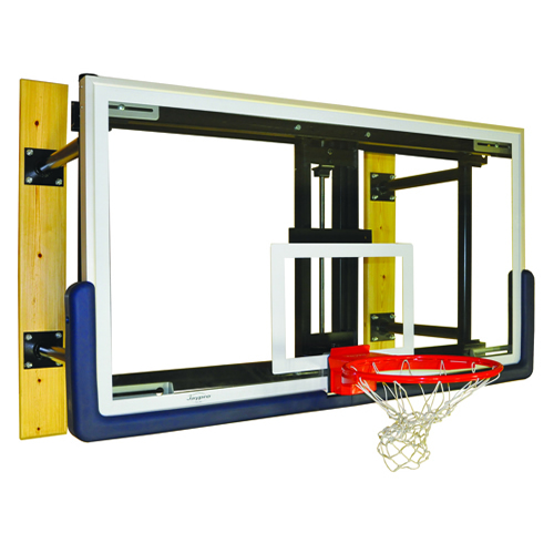 Glass Board Wall-Mounted Shooting Station w/ Height Adjuster