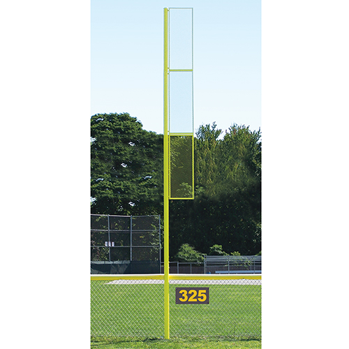 Collegiate Foul Pole (20′ Baseball – Yellow)