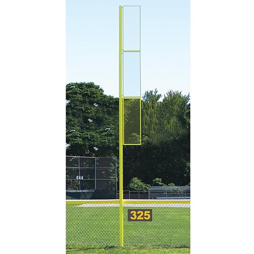 30' Collegiate Foul Pole (Baseball – Semi/Perm – Yellow)
